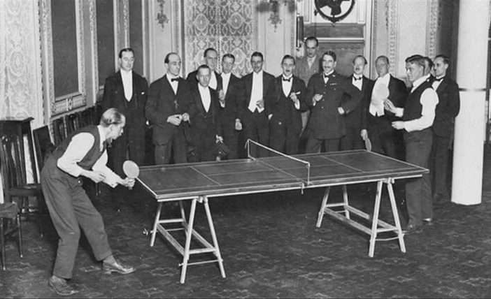 History Of Table Tennis